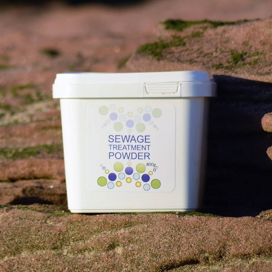 Be SEWAGE TREATMENT POWDER