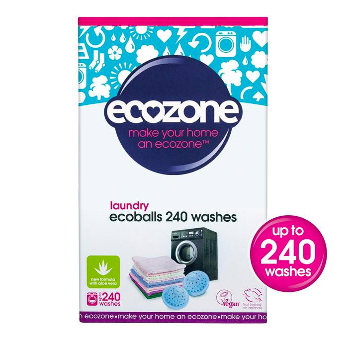 Ecozone Ecoballs 240 Washes