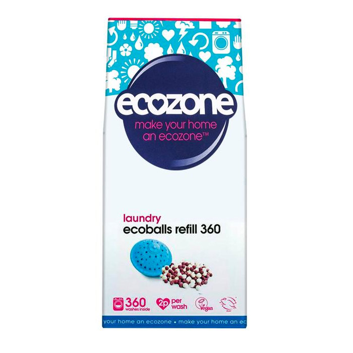 ECOZONE ECOBALL REFILLS 360 Washes